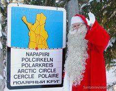 Joulupukki ja Napapiiri Lapissa
