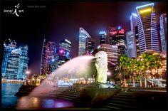 Merlion, the First & Last - HDR  #landscape #photography #travel