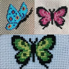 Butterfly Butterfly Stitches, Butterfly Cross Stitch, Cross Stitch Rose, Cross S. Cross Stitch Bookmarks, Cross Stitch Cards, Simple Cross Stitch, Cross Stitch Borders, Cross Stitch Samplers, Cross Stitch Animals, Cross Stitch Kits, Cross Stitch Designs, Cross Stitching