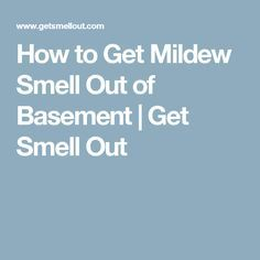 How to Get Smell Out of Pleather Upholstery Mildew Stains, Mildew Remover, Mold And Mildew, Flooded Basement, Get Rid Of Mold, Sunbrella Fabric, Clean House, Cleaning Hacks, Helpful Hints