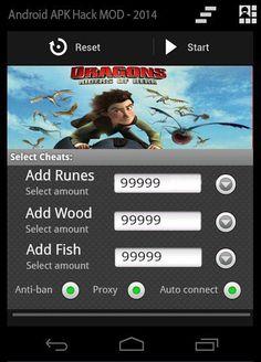 Dragons Rise of Berk Hack (APK) | Games Hooks