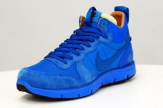 new product b8660 75edf Nike Lunar Solstice Mid SP White Label Blue -KdS! Nike Lunar, Nike Running