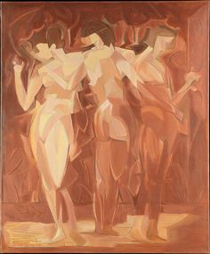 Manierre Dawson - Meeting (The Three Graces) (1912)