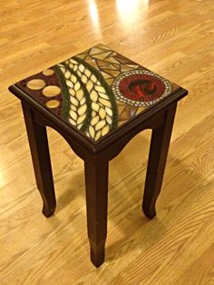 coffee table with tile inlay - Furniture has turned into an important a part of humankind whether at. Mosaic Tray, Mirror Mosaic, Mosaic Tables, Mosaic Crafts, Mosaic Projects, Stained Glass Patterns, Mosaic Patterns, Mosaic Furniture, Mosaic Pieces