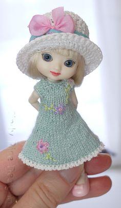"""Spring Dreaming"", made for Wilde Imagination's Amelia Thimble dolls, cindyricedesigns.com ."
