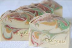 SoapJam version of white tea and ginger
