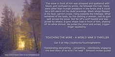 Great book reviews Get it at author.to.TouchingtheWire