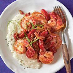 20-Minute Dinner Recipes: Spicy Shrimp and Grits Recipes | CookingLight.com