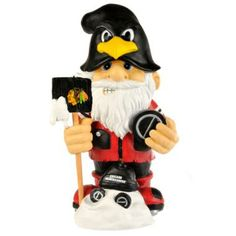 NHL Chicago Bulls 11 inch Thematic Garden Gnome - Home Decor / Outdoor Living