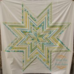 from the blue chair: Jumbo Paper Pieced Star Tutorial: Making the Templates