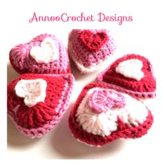 Lavender Heart Sachet Free Tutorial By AnnooCrochet Designs