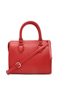 Satchel Bag from Celebrity Bags You Can Relate to  Forever 21 Faux Leather Satchel, $25