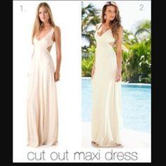 Venus cut out maxi dress! Never worn so is still in perfect condition Venus Dresses Maxi