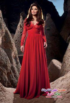 #dress #fashion http://www.a3da.net/elissa-dresses-fashion-hawaaworld-2014/