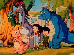 I don't know what's sadder, the fact I still watch dragon tales at 14 or that I still know the theme song...