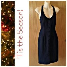 AVAILABLE from my closet on Poshmark. Benetton Halter Dress SZ XS. Check it out! Price: $12 Size: XS