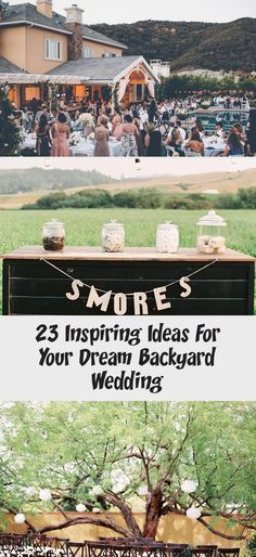 26 Inspiring Ideas for Your Dream Backyard Garden Wedding - Inspired by This #gardenweddingDecorations #gardenweddingReception #gardenweddingBridesmaids #Intimategardenwedding #gardenweddingPhotos