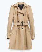 WATER REPELLENT COTTON RAINCOAT - View all - Woman - NEW IN | ZARA United Kingdom