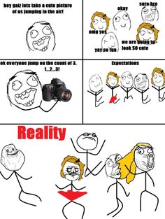 Expectations against Reality #1