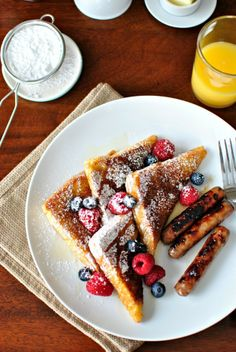 Cinnamon and Sugar Crusted French Toast by Simply Scratch. Last week I ...