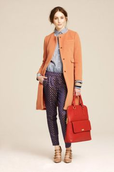 j. crew fall 2011 #jcrew #orange