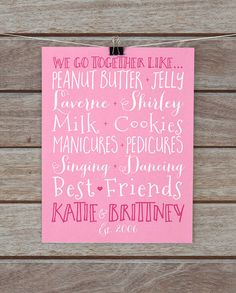 laugh smile dream friend personalized photo quote best friend gifts pinterest friend photos photo quotes and gift - Things To Get Your Best Friend For Christmas