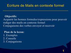 Ecriture De Mails