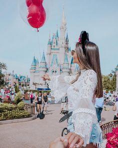 Disney Babe by via ❤ Disney World Pictures, Disney World Trip, Disney Vacations, Cute Disney, Disney Dream, Disney Style, Disneyland Photography, Disneyland Photos, Disneyland Couples