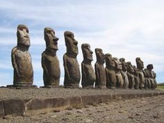 STAR GATES: Easter Island. Why they made these here??