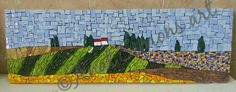 My art. Smalti. Anat simons. Mosaic Art, Mosaics, Mosaic Designs, Landscapes, My Arts, Painting, Inspiration, Bebe, Paisajes