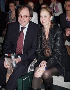 David's father Georg and mother Dove at a music awards ceremony in 2009.  'I thought my father hated me' - David Garrett