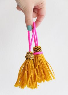I quickly whipped up a few tassels the other day to embellish a bigger project that you will see soon. These are so easy to make and only took me a few minutes with some materials I had on hand. You can keep them simple or add some pretty trims to make them look fancy. The only tools required are...