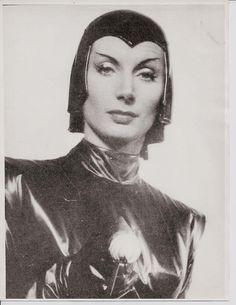 Patrica Laffan as Nyah in DEVIL GIRL FROM MARS (1954)