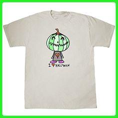 Inktastic - I Love Halloween T-Shirt XX-Large Natural - Gus Fink Studios - Holiday and seasonal shirts (*Amazon Partner-Link)