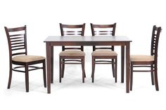 Cathy Brown Wood Modern 5 Piece Dining Set | Home Furniture » DINING SETS