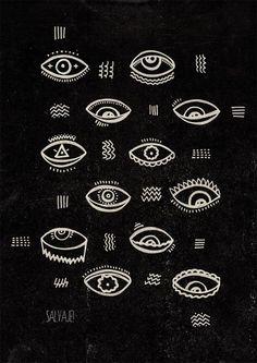 http://www.etsy.com/listing/130784508/eyes-print?  ☆ https://es.pinterest.com/iolandapujol/pins/ ☆ @iola_pujol/