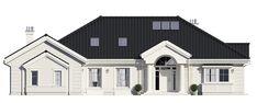 Projekt domu Rezydencja Parkowa 3 - 259,28 m2 - koszt budowy 361 tys. zł Mansions, House Styles, Home Decor, Decoration Home, Room Decor, Fancy Houses, Mansion, Manor Houses, Mansion Houses
