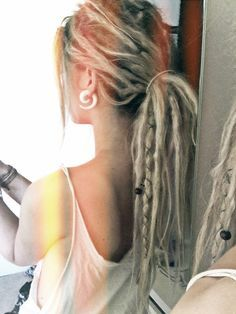 Dreads. Really pretty