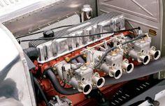Hot rod inline six cylinder