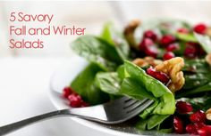 Comforting Fall and Winter Salads | via @SparkPeople #recipe #food #healthy