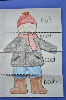 Mrs. Ring's K-Crew Kids Rock!!: The Jacket I Wear In The Snow