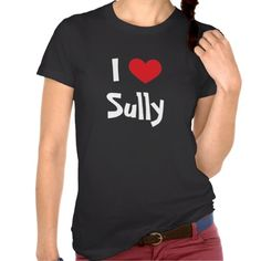 >>>Are you looking for          I Love Sully Tshirt           I Love Sully Tshirt lowest price for you. In addition you can compare price with another store and read helpful reviews. BuyShopping          I Love Sully Tshirt today easy to Shops & Purchase Online - transferred directly secure...Cleck Hot Deals >>> http://www.zazzle.com/i_love_sully_tshirt-235189763687135365?rf=238627982471231924&zbar=1&tc=terrest