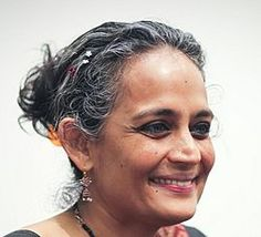Arundhati Roy (1961-) Indian Novelist and winner of the Booker Prize in 1997 for her novel The God of Small Things.