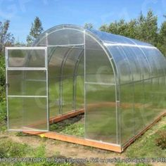 Polycarbonate Greenhouse Ruby 2.5 Polycarbonate Greenhouse, Ruby 2, Pressure Treated Timber, Galvanized Pipe, Top Soil, Garden Accessories, Growing Flowers, Vegetable Garden, In The Heights