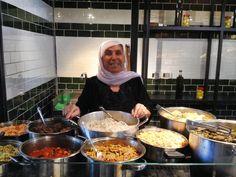 Druze food from Daliat el Carmel village