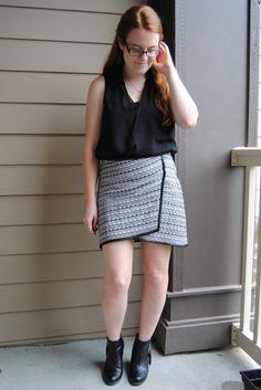 Wrap Skirt Love { full post on http://stripedflats.com }