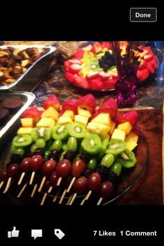 Fruit desserts perfect snack for your jewelry bar