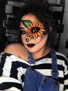 Halloween makeup Scarecrow Halloween Makeup, Halloween Inspo, Halloween Makeup Looks, Halloween Kostüm, Halloween Costumes, Halloween Recipe, Halloween Decorations, Women Halloween, Scarecrow Costume