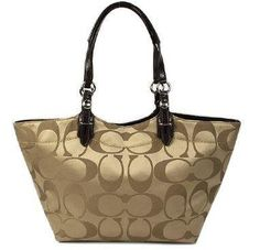 Coach Bleecker Signature Sateen Tote F16175 « Holiday Adds