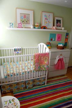 Ikea Strib Rug Carpet Erfly Room Rainbow Nursery